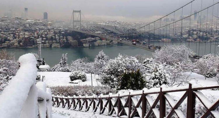 İstanbul'da kar yağışı için tarih verildi
