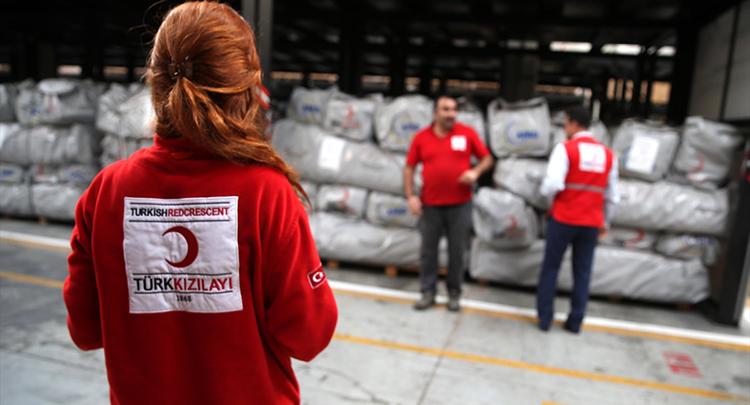 Türk Kızılayı afetlere hazırlıklı