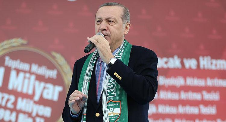 Cumhurbaşkanı Erdoğan: Haddinizi bilin