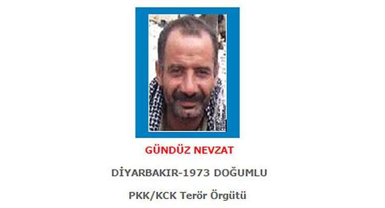 1 milyon 500 bin lira ödülle aranan terörist öldürüldü