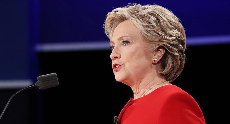 Clinton mağlubiyetinin ardından ilk kez halkın karşısına çıktı