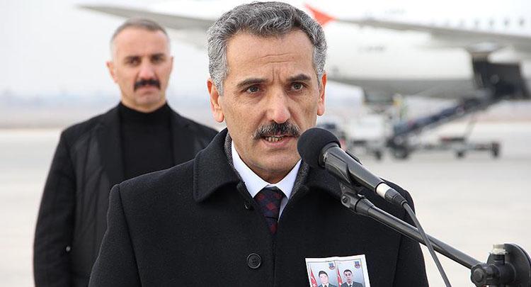Tunceli Valisi Kaymak: Gelin Türk adaletine teslim olun