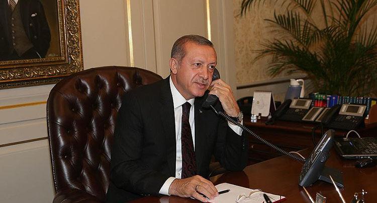 Cumhurbaşkanı Erdoğan, Trump'ı tebrik etti