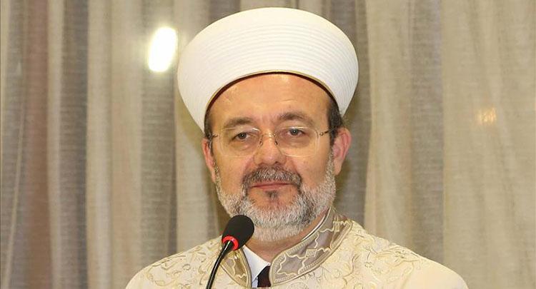 Görmez: Kur'an-ı Kerim, kul ile Allah arasındaki konuşmadır