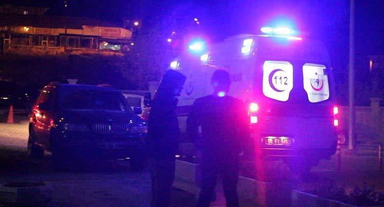 Başkentte işçi servisi devrildi: 16 yaralı