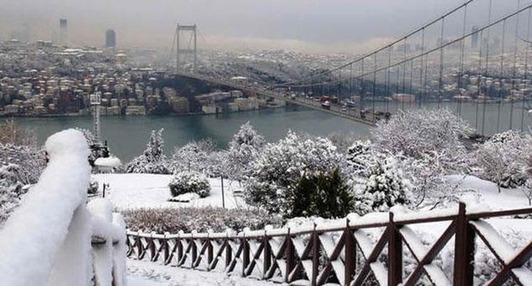 Meteoroloji İstanbul'a kar yağışı için tarih verdi