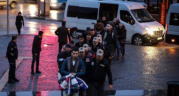 Bursa'daki FETÖ/PDY soruşturmasında 13 şüpheli adliyede