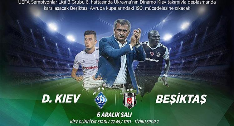Beşiktaş Avrupa kupalarında 190. maçına çıkıyorbeşiktaş