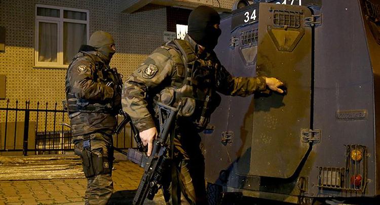 Terör operasyonlarında 235 gözaltı