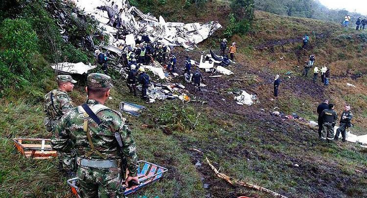 Kolombiya'da düşen uçağın telsiz kayıtları ortaya çıktı