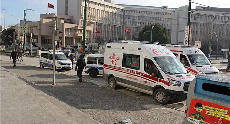 Gaziantep Emniyet Müdürlüğü önünde çatışma çıktı