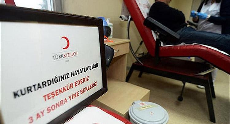 Türk Kızılayının kan stoğu arttı