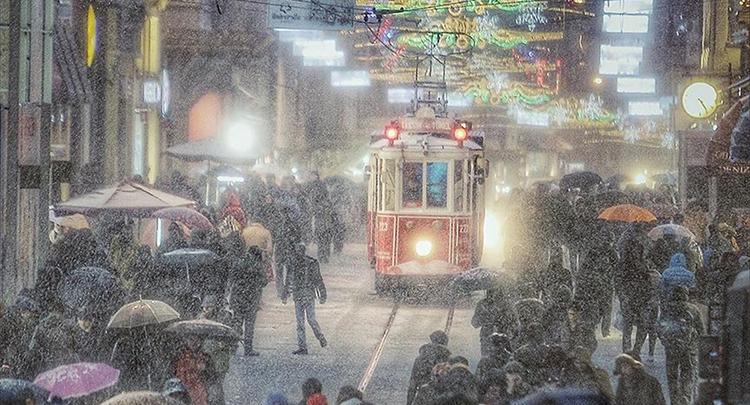 İstanbul'da yarın akşam kar bekleniyor