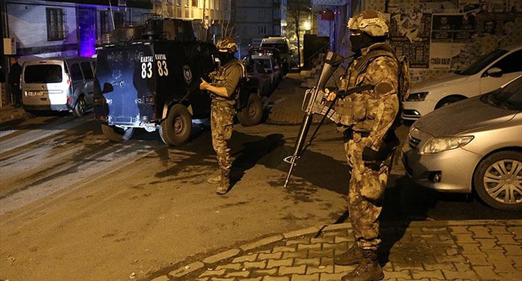 İstanbul'da terör örgütü DHKP-C'ye operasyon