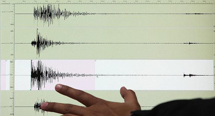Ayvacık açıklarında 5,2 büyüklüğünde deprem