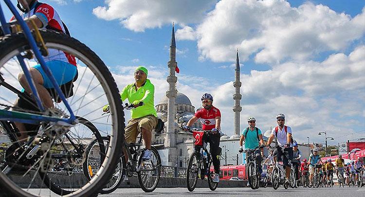 İstanbullular pedal basmayı sevdi