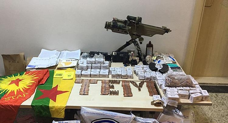 Mardin'de METİS M1 füze ateşleyicisi ele geçirildi