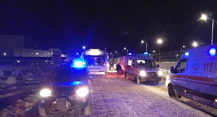 Konya'da fabrikada zehirlenme şüphesiyle 28 işçi hastaneye kaldırıldı