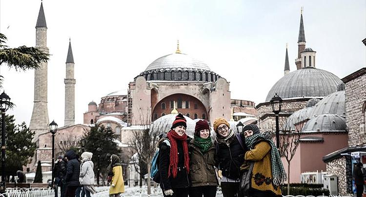 'İstanbul'u 2016'da 9,2 milyon kişi ziyaret etti'