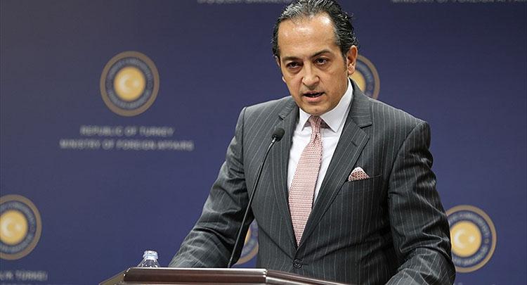 Dışişleri Bakanlığı Sözcüsü Müftüoğlu: İran'ın ithamlarını kabul etmek mümkün değil