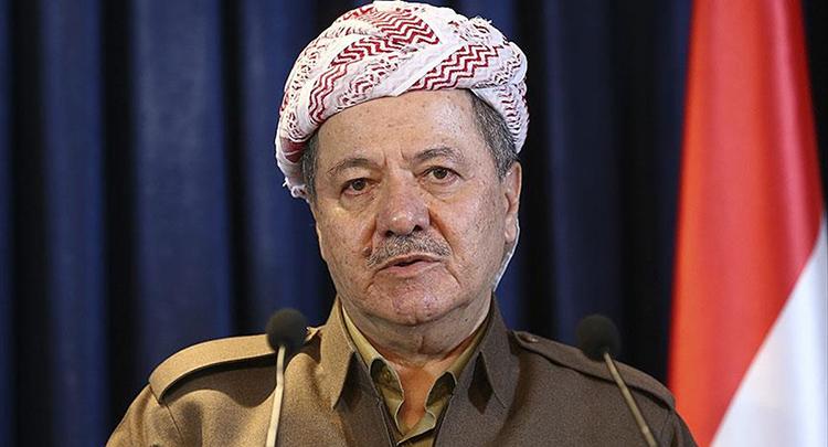 IKBY Başkanı Barzani yarın Türkiye'ye geliyor