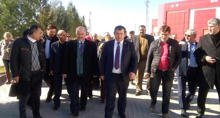 İMDD yardım kampanyası için gittiği Gaziantep'den döndü
