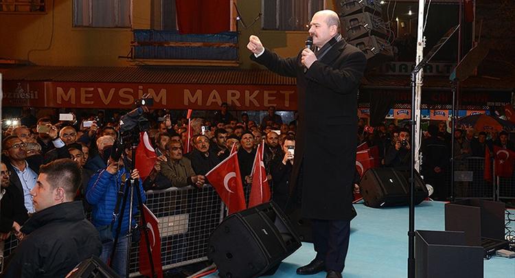 İçişleri Bakanı Soylu: Terör örgütünün kökünü kazıyacağız