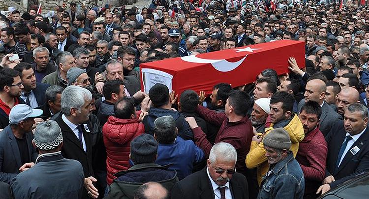 Şehit Jandarma Astsubay Başçavuş Altınalana son yolculuğuna uğurlandı