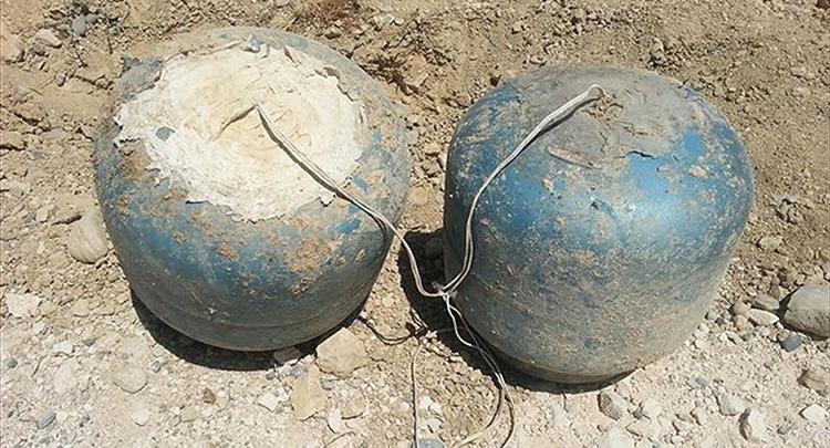 Tunceli'de 100 kilogram amonyum nitrat ele geçirildi