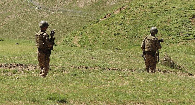 Kars'ta 'yeşil liste'deki terörist etkisiz hale getirildi