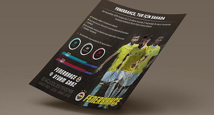 Fenerbahçe Avrupa'da 218. kez sahada