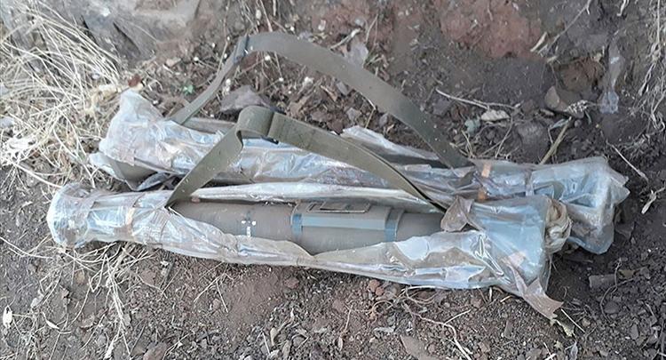 PKK'dan İsveç menşeli tanksavar füzesi çıktı