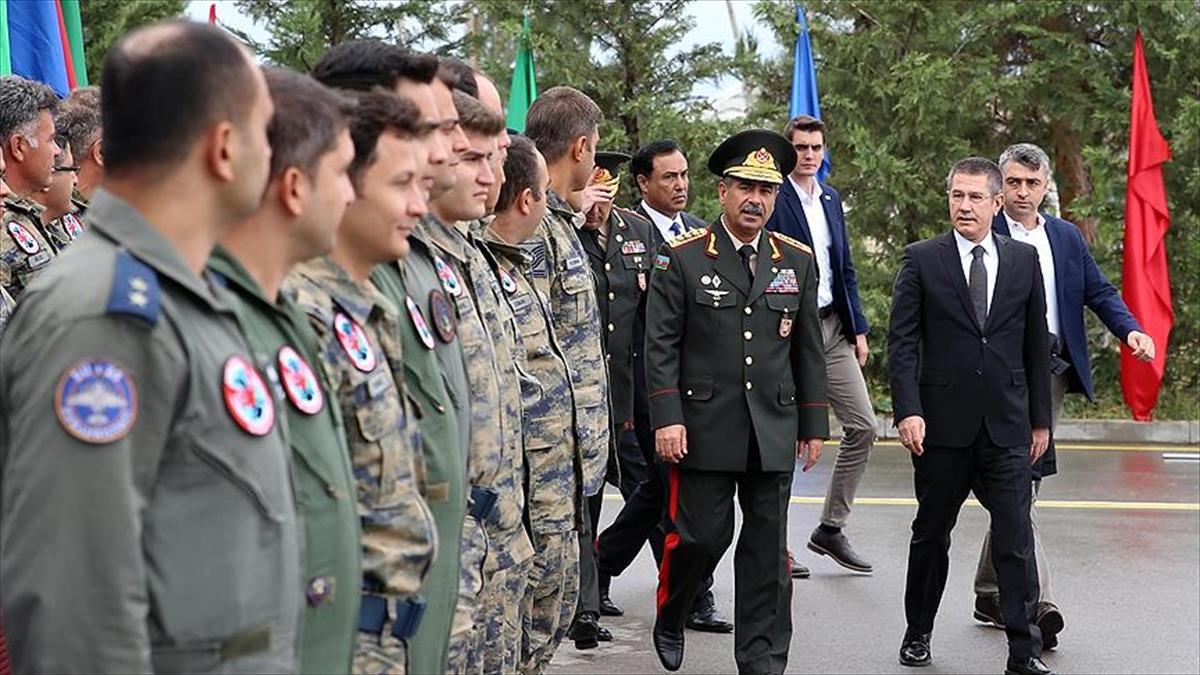 Milli Savunma Bakanı Canikli, TurAz Kartalı 2017 Tatbikatı'nın kapanış törenine katıldı