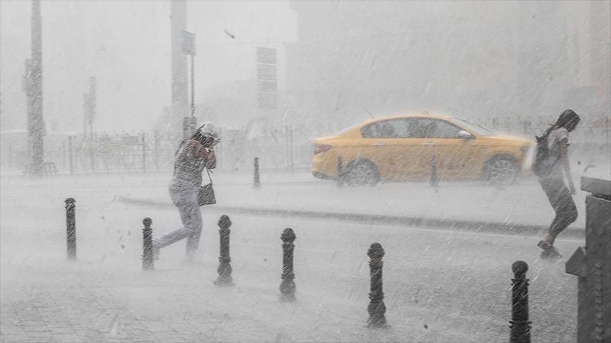 İstanbul için 'kuvvetli sağanak' uyarısı