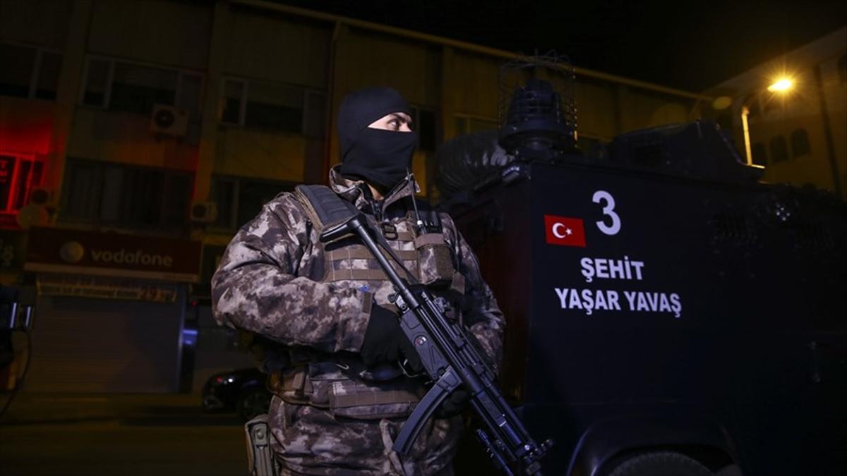 Başkentte DEAŞ operasyonu: 101 gözaltı