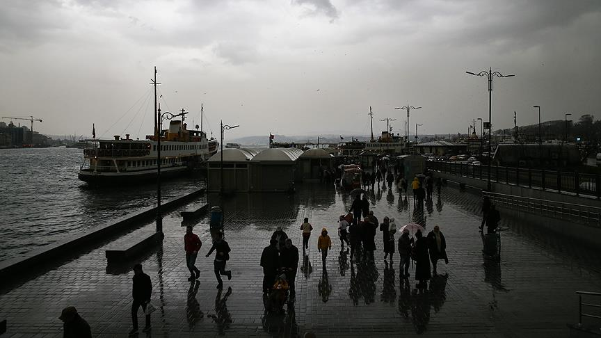 Marmara Bölgesi için sağanak uyarısı