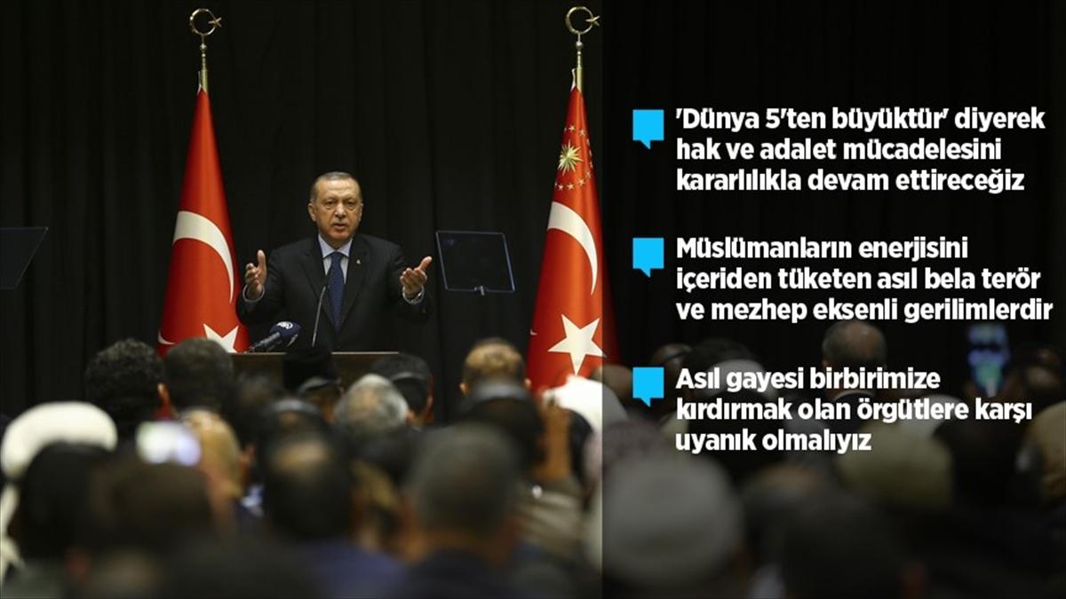 Cumhurbaşkanı Erdoğan: FETÖ'nün ipi İslam düşmanlarının elindedir