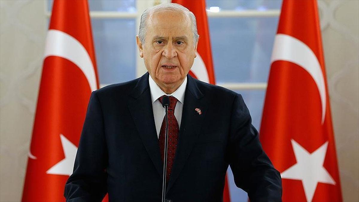 MHP Genel Başkanı Bahçeli'den ABD'nin yaptırım tehdidine tepki