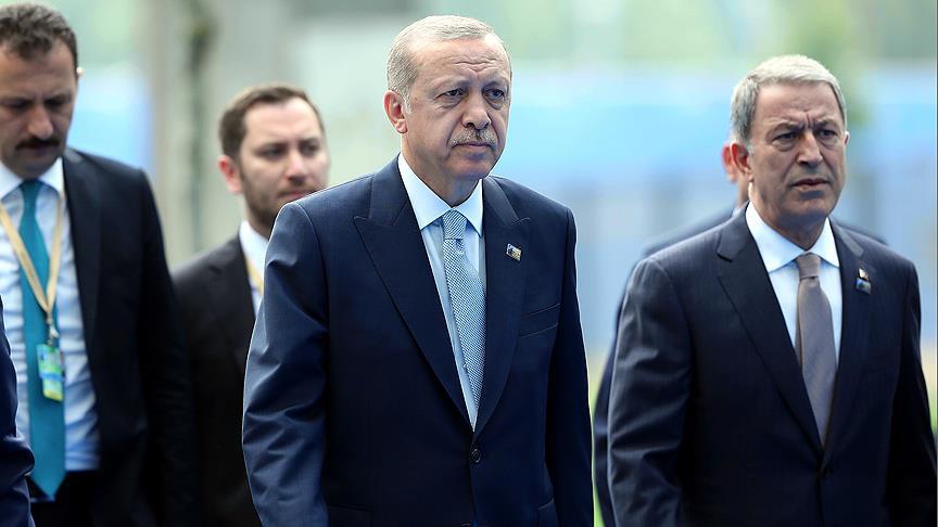 Cumhurbaşkanı Erdoğan Brüksel'de 'Afganistan Oturumu'na katıldı
