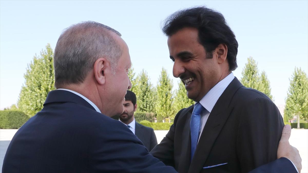 Katar Emiri Al Sani: Türkiye'nin ve oradaki kardeşlerimizin yanındayız