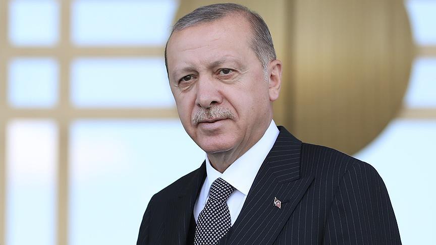 Erdoğan Roş Aşana Bayramı'nı kutladı