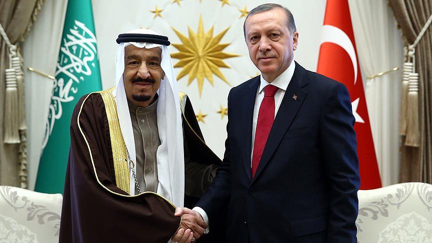 Cumhurbaşkanı Erdoğan ve Kral Selman görüştü