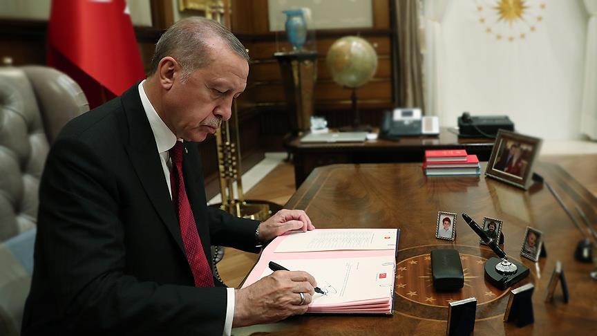Cumhurbaşkanı Erdoğan'dan Orta Vadeli Mali Plan'a onay