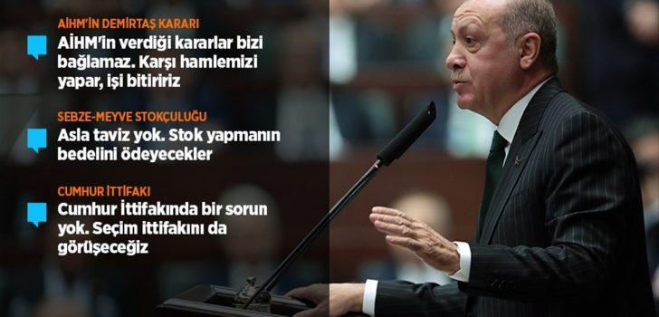 Cumhurbaşkanı Erdoğan: AİHM'in verdiği kararlar bizi bağlamaz