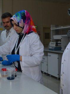 Atatürk Üniversitesinden akademisyenler 'çaşır'dan krem üretti