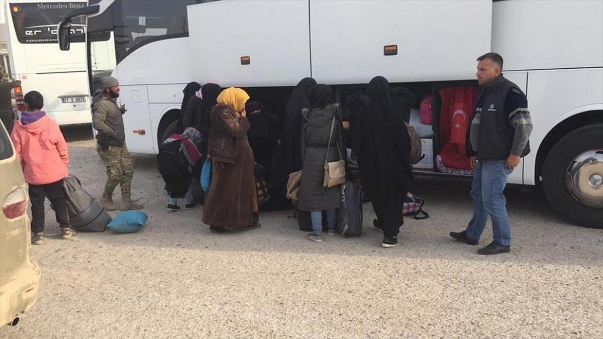 MSB: 593 Suriyeli kardeşimiz güvenli şekilde Tel Abyad'daki evlerine döndü