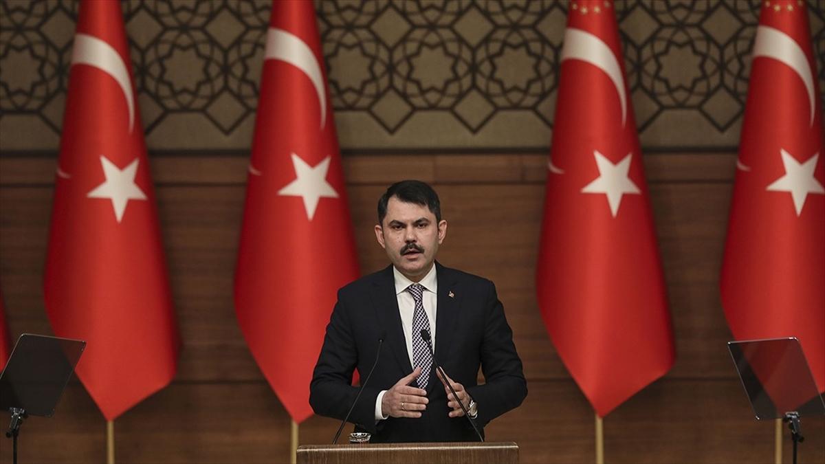 Çevre ve Şehircilik Bakanı Kurum: 81 ilde 1,5 milyon konutun dönüşümünü başlattık
