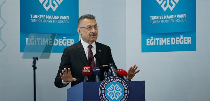 Cumhurbaşkanı Yardımcısı Oktay: FETÖ faaliyet gösterdiği yerlerde hala zehir akıtmaya devam ediyor