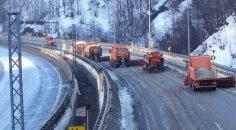 'Kar kaplanları' İstanbul'un Anadolu'ya açılan kapısında nöbette