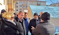 Malatya ve Elazığ Deprem sonrası yardımlar ile ziyarette bulundu